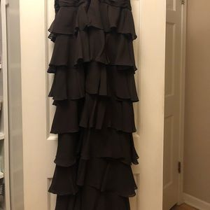 Kay Unger Dresses - Kay Unger New York chocolate brown strapless dress